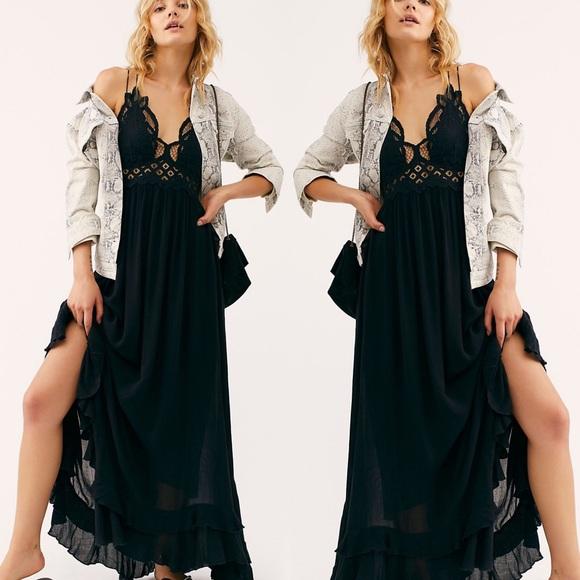 Adella Maxi Dress - Black